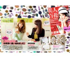雑誌掲載多数♡ タレントさん、モデルさんも学びにいらっしゃるポーセラーツLesson。