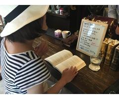 カフェで英会話♪