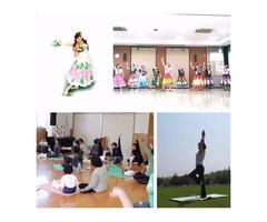 奈良ヨガ・フラダンス 奈良のんびりフラダンス教室かつらぎ・天理 歪み矯正ヨガ教室天理
