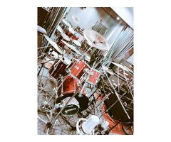 ドラムレッスン【ペース自由】