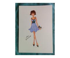 Fashion sketching Hobby English